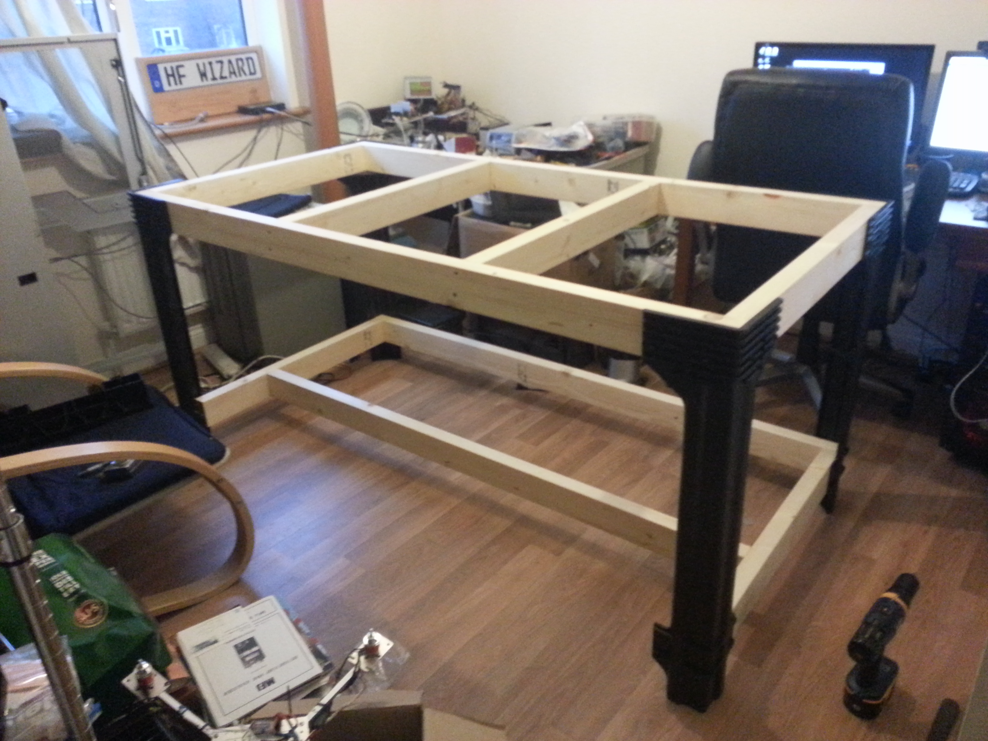 Electronic Workbench during build