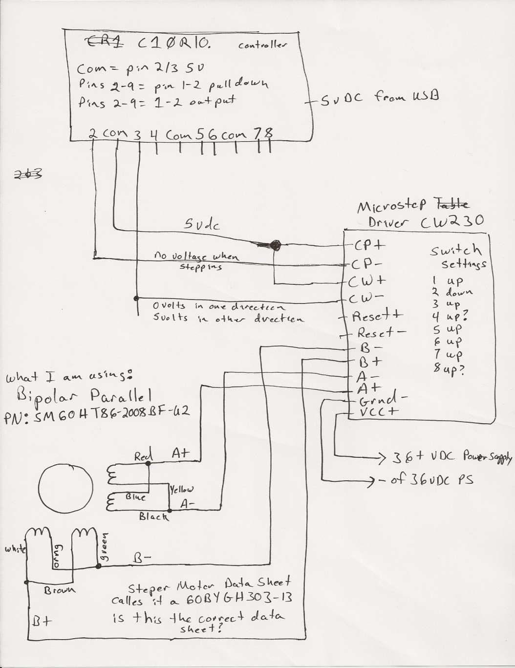 Cw230 Driver Cnc Wiring Diagram Free Download Diagrams Electronics Of My First 2 At Bldc Machine Schematic